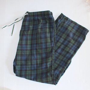 GAP Men's Plaid Cotton Pajama Pants
